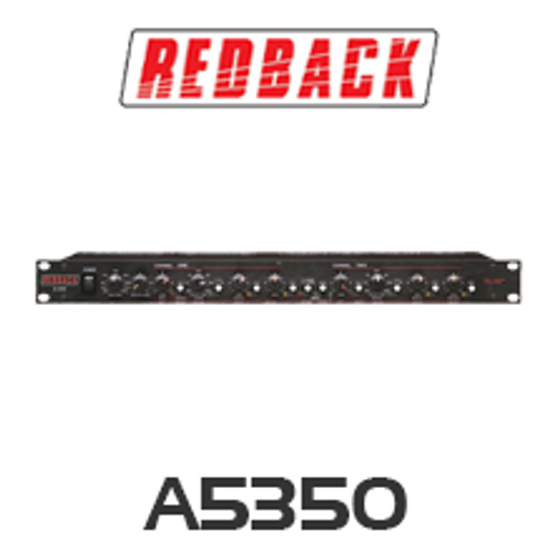 Redback 2 Way Stereo / 3 Way Mono Active Crossover
