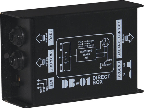 AVA DB-01 Passive Direct Injection Box
