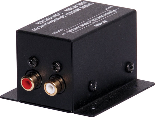 Unbalanced Stereo Line Isolation Transformer RCA-RCA