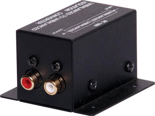 Unbalanced Stereo Line Isolation Transformer RCA-RCA