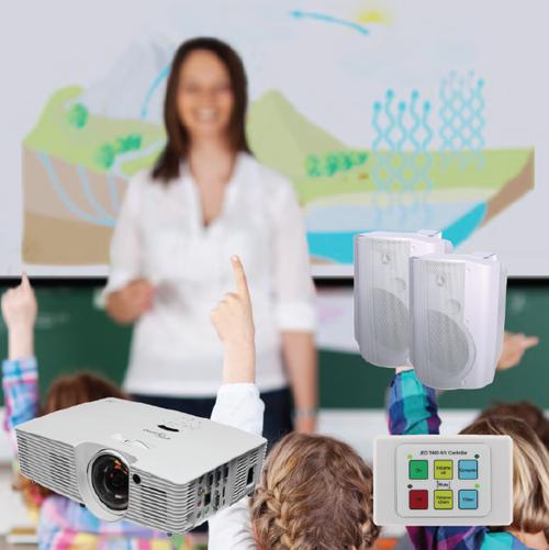 Short Throw Classroom Presentation Package