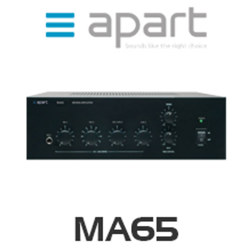 Apart MA65 Compact Mixing Amplifier