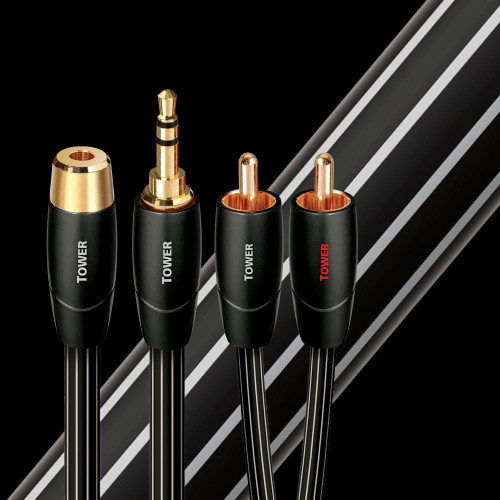 AudioQuest Tower 3.5mm / RCA Interconnect Cable