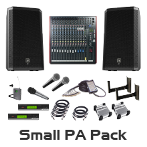 Small Auditorium PA Package