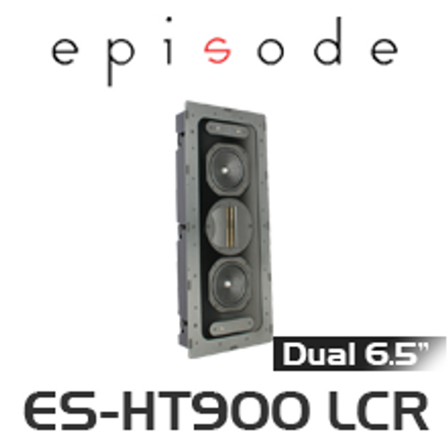 """Episode 900 Series Dual 6.5"""" In-Wall Home Theater LCR Speaker (Each)"""