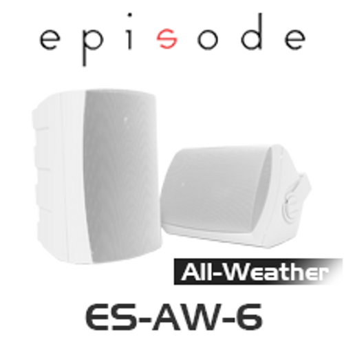 "Episode 6.5"" All Weather Series Speakers (Pair)"