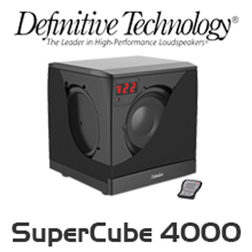"Definitive Technology SuperCube 4000 8"" High Performance Powered Subwoofer"