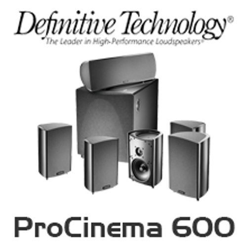 Definitive Technology ProCinema 600 5.1 Channel Home Theatre System