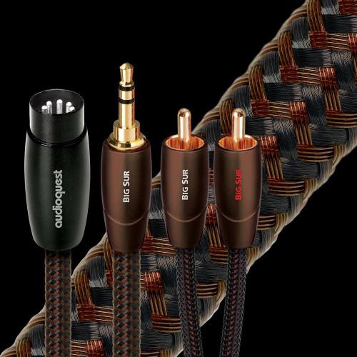 AudioQuest Big Sur 3.5mm/ RCA/ DIN Interconnect Cable