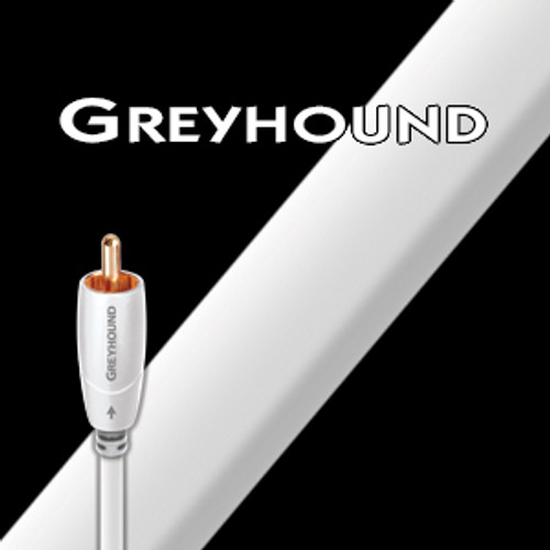 AudioQuest Greyhound RCA Subwoofer Cable