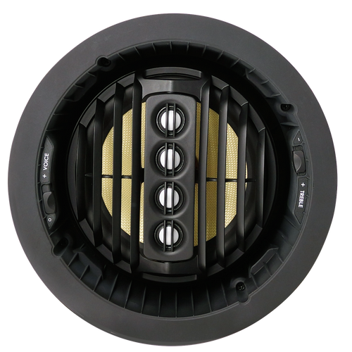 "SpeakerCraft AIM7 FIVE Series 2 7"" Made with 'Kevlar' Woofer Pivoting In-Ceiling Speakers (Pair)"