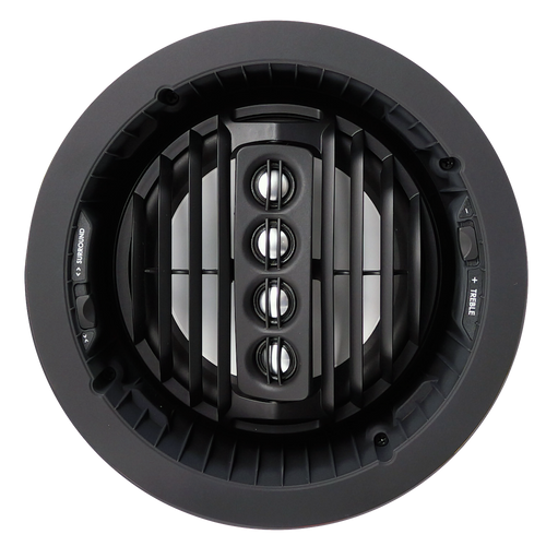 "SpeakerCraft AIM7 SR Three Series 2 7"" Aluminium Woofer Pivoting In-Ceiling Speakers (Pair)"