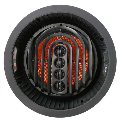 "SpeakerCraft AIM8 TWO Series 2 8"" Glass Fiber Woofer Pivoting In-Ceiling Speaker (Each)"