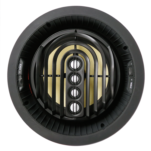 "SpeakerCraft AIM8 FIVE Series 2 8"" Made with 'Kevlar' Woofer Pivoting In-Ceiling Speakers (Pair)"