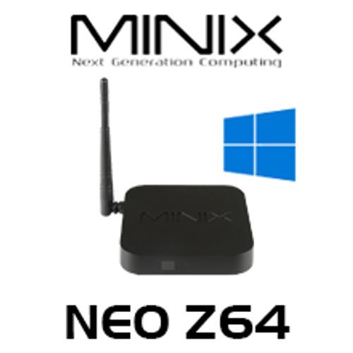 MINIX NEO Z64 Fanless Mini PC Windows 10 Edition