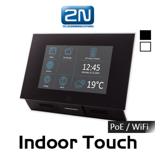 """2N Indoor Touch 7"""" PoE / WiFi IP Intercom Touch Panel Multifunctional Communicator"""