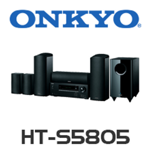 Onkyo HT-S5805 5.1.2-Channel Dolby Atmos Home Theater Package