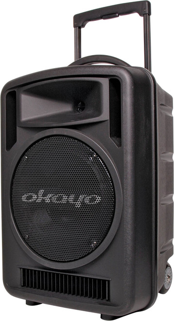 Okayo Compact 120 Watt Portable PA System with 520-544Mhz UHF Receiver