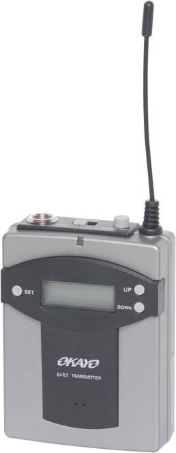 Okayo 96 Channel UHF Beltpack Transmitter (520-544Mhz)
