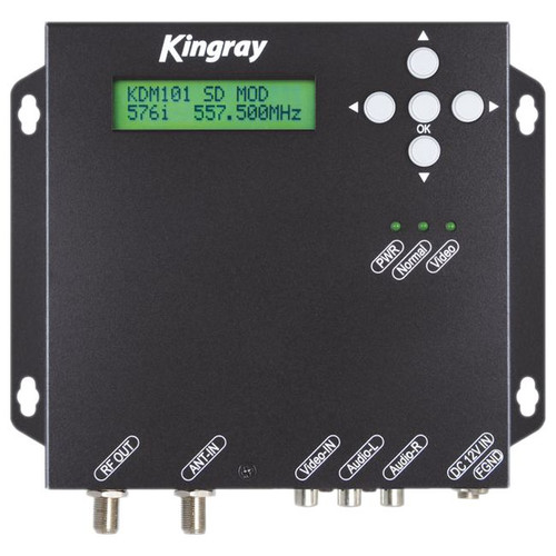 Kingray KDM101 AV to Digital (DVB-T) Modulator