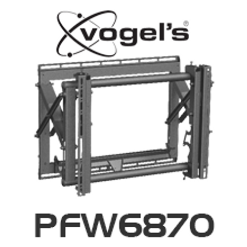 """Vogels PFW 6870 Video Pop-Out Flat Display Wall Mount (Suits 37"""" - 65"""")"""
