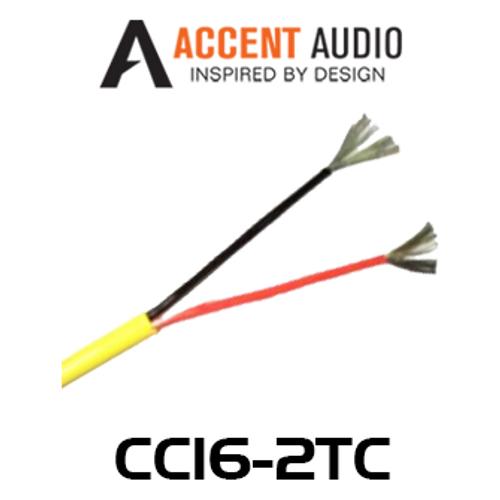 Accent Acoustics CC16-2TC 16 Gauge 2 Core Tinned Copper Speaker Cable - 300m