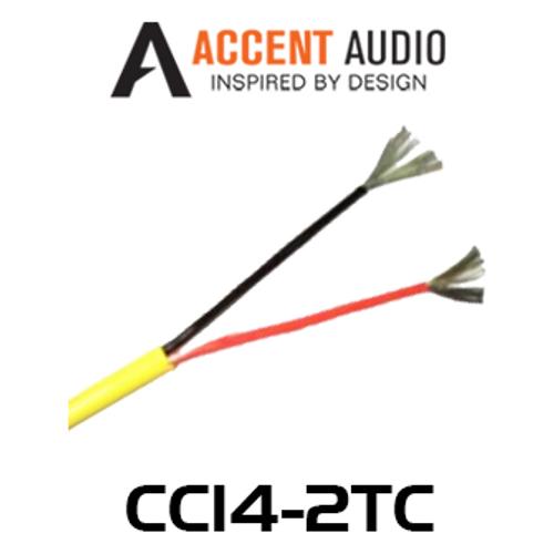 Accent Audio CC14-2TC 14 Gauge 2 Core Tinned Copper Speaker Cable - 150m