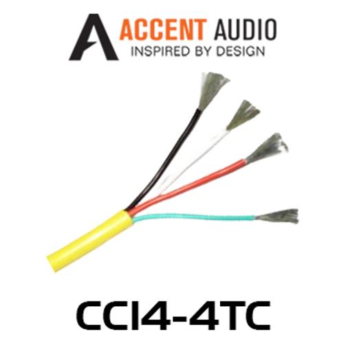 Accent Audio CC14-4TC 14 Gauge 4 Core Tinned Copper Speaker Cable - 150m