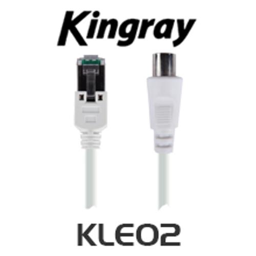 Kingray KLE02 RJ45 to PAL Lead to Suit CAT01