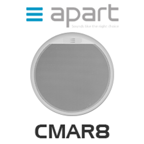"Apart CMAR8 8"" Two-Way Built-In Marine Speaker (Each)"