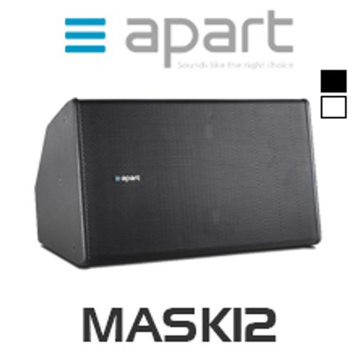 """Apart MASK12 12"""" Full Range High Power Cabinet Loudspeaker (Each)"""