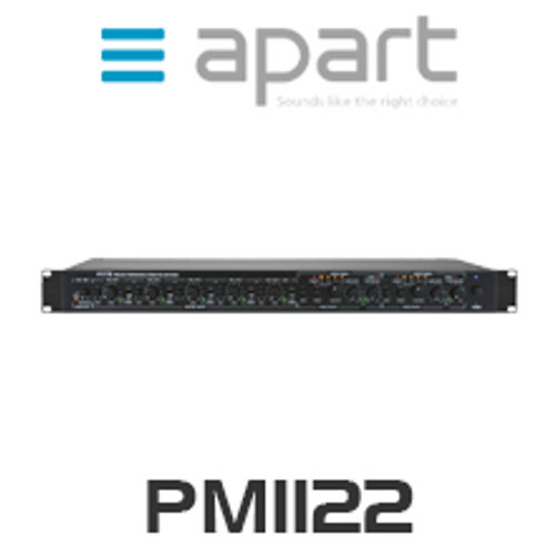 Apart PM1122 Multifunctional Stereo Pre-Amplifier