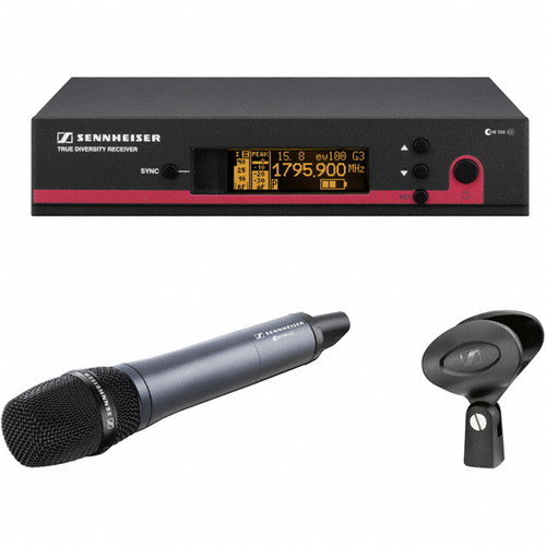 Sennheiser EW100 G3 Wireless Handheld Microphone Vocal Voice System