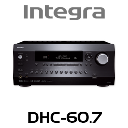 Integra DHC-60.7 7.2 Channel DTS:X Ready Network A/V Preamp