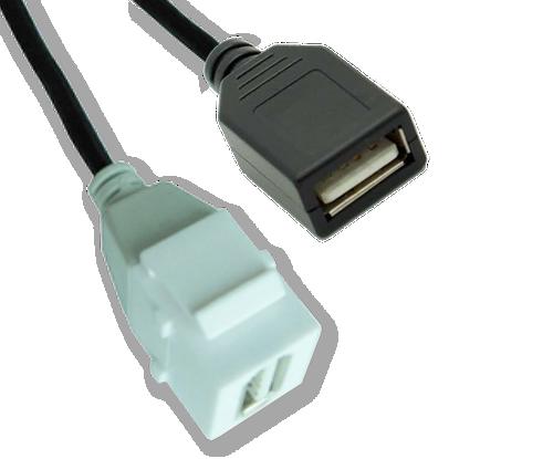 Origin WPUSBF USB A Female to USB Female Wallplate Insert