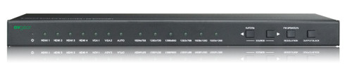 AVGear DSS61 6 Video In 1 Out Compact 4K Scaler Switcher