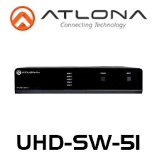 Atlona 4K UHD 5-Input HDMI Switcher