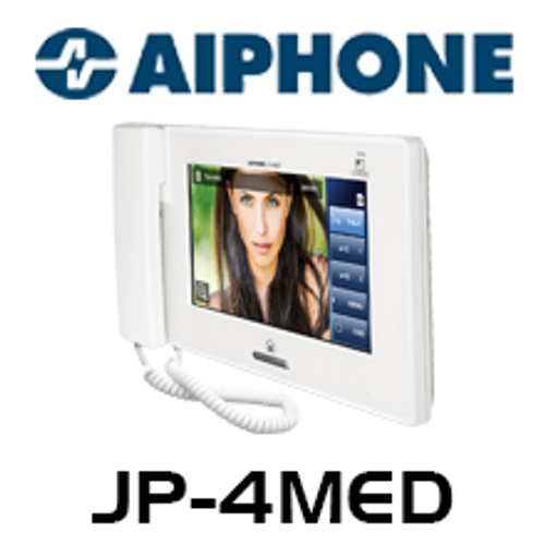 "Aiphone JP-4MED 7"" LCD Touch Screen PTZ Video Intercom - Master Station"