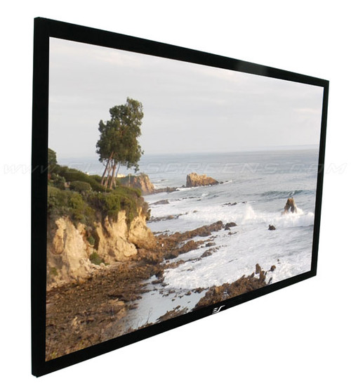 Elite Screens SableFrame 2 6cm Black Velvet Border 4K Fixed Frame Projection Screens