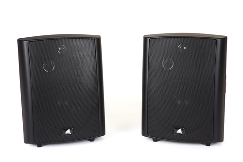 "Australian Monitor AMPAV30 5.25‰"" Active 3-Way Stereo Speakers with Brackets (Pair)"
