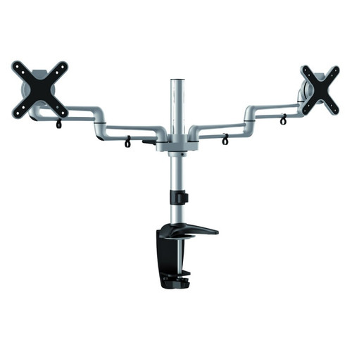 "Quantum Sphere LDCT9N 13""-27"" Full Motion Dual LCD Display Desk Mount"