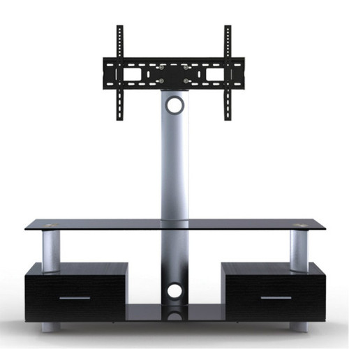 "Quantum Sphere LK2 2 Shelfs Entertainment Unit Integrated with 32""-55"" LCD TV Mount"
