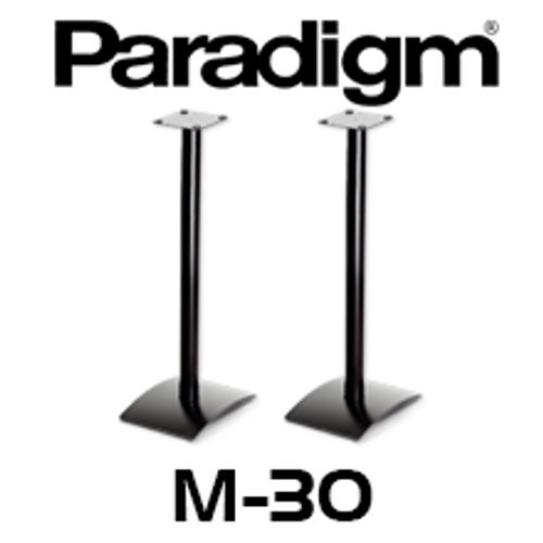 Paradigm M-30 Speaker Stands (Pair) - Suits Monitor Atom / Mini / Surround 1 and 3, Studio 10 / 20/ ADP590