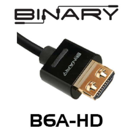 Binary B6A-Series GripTek High Speed HDMI Cable with Ethernet - 10, 15, 20, 25, 30m