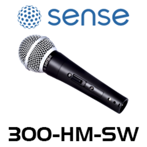 Sense Handheld Dynamic Microphone with On/Off Switch