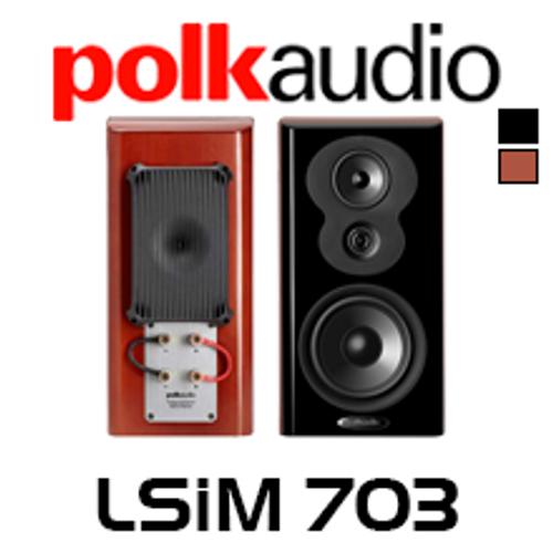 Polk Audio LSiM 703 Bookshelf Speakers (Pair)