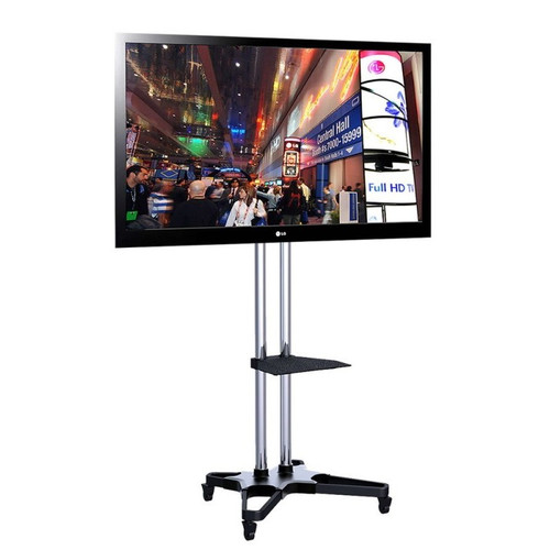 "Quantum Sphere 1021S Heavy Duty Mobile TV Trolley - Suits 37""-70"""