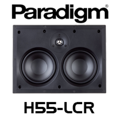 """Paradigm CI Home H55-LCR Dual 5.5"""" 2-Way LCR In-Wall Speaker (Each)"""
