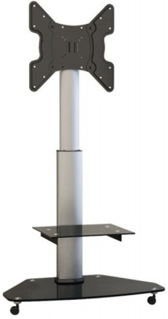 "Quantum Sphere FS02G Contemporary Tilt & Height Adjustable Digital Signage TV Trolley - Suits 32""-55"""