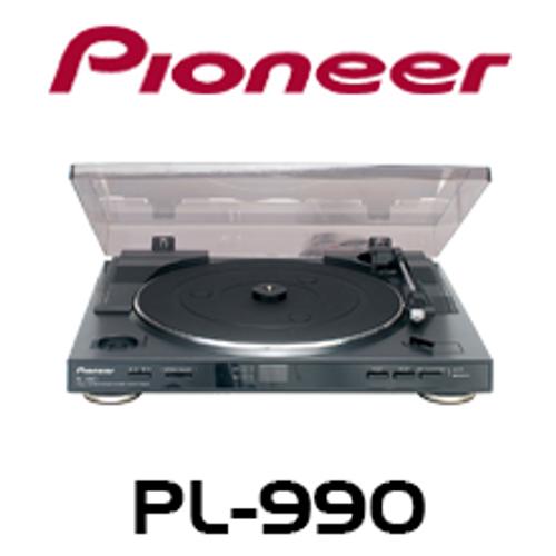 pioneer pl 990 full automatic stereo turntable av australia online. Black Bedroom Furniture Sets. Home Design Ideas